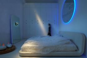 朦胧梦幻的二居室卧室装修效果图大全2012图片