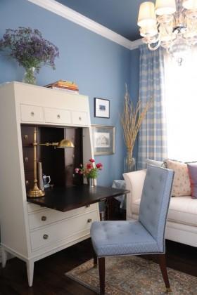 地中海风格卧室书房装修效果图