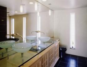 10万打造简约日式风格卫生间装修效果图大全