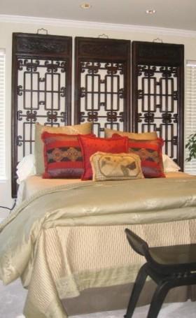 17万打造华美中式风格二居卧室装修效果图大全