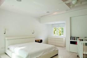 160平简约风格别墅卧室装修效果图