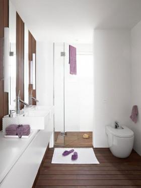二居室简欧风格卫生间装修效果图大全