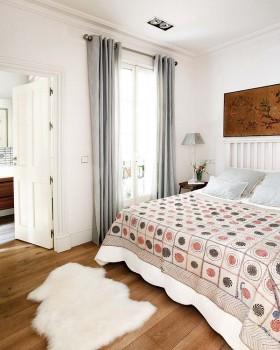 小三居宜家风格卧室装修效果图 清淡适宜