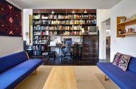 现代色彩明朗的复式楼书房装修效果图大全