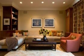 三室两厅中式风格客厅装修效果图大全