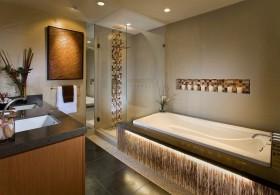 50平米小户型现代时尚的卫生间装修效果图大全