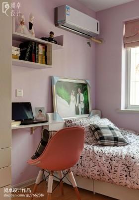 现代时尚婚房卧室设计效果图