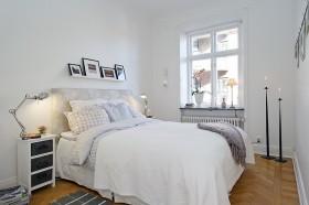 50平方米北欧风格小户型卧室装修效果图