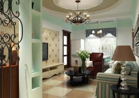 天使之城 自然古朴的二居室玄关装修效果图大全