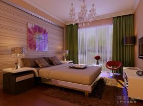 10万打造二居现代简约风格卧室吊顶装修效果图大全2012图片