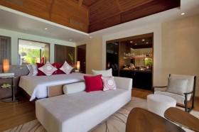 160平三居现代时尚卧室装修效果图