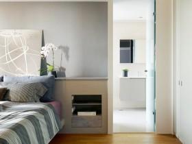 淡雅宜人的小户型卧室玄关装修效果图