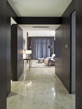 三居室过道瓷砖样板间效果图