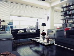 三房两厅现代都市白领客厅装修效果图大全