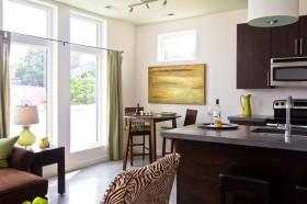 11万打造温馨欧式风格厨房橱柜装修效果图大全