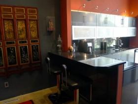 17万打造华美东南亚风格厨房橱柜装修效果图大全