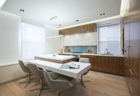 90平米小户型时尚室内厨房装修效果图大全