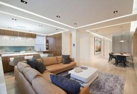 90平米小户型时尚室内客厅装修效果图大全