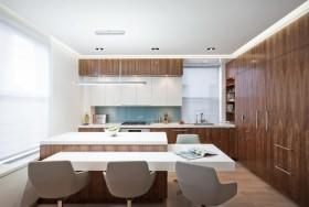 简洁干净的厨房装修效果图大全