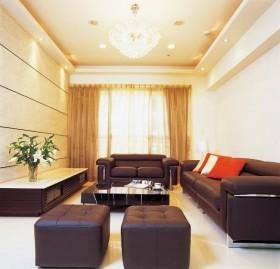简约风格70平米小户型客厅吊顶效果图