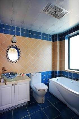地中海風格裝修衛生間圖片