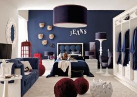 室內裝修地中海風格客廳背景墻