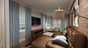 室内客厅装修地中海风格