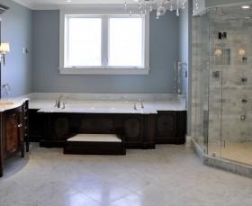 室内装修地中海风格卫生间浴缸
