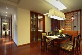 90平米小户型装修效果图大全 领略中式内敛的餐厅设计