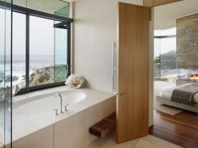 最新海滨别墅卫生间装修效果图大全