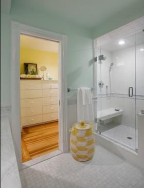 简单清新的简约风格现代卫生间舒适装修效果图