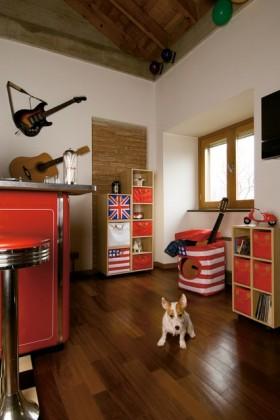两室一厅美式风格客背景墙厅装修效果图大全2012图片