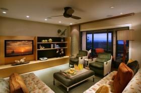 12万打造北欧风格客厅电视背景墙装修效果图大全