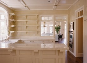 三室两厅美式风格厨房橱柜装修效果图大全