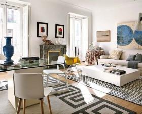 80平米小户型客厅装修设计图