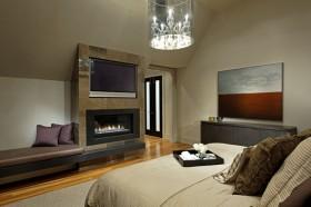40万打造奢华欧式风格卧室电视背景墙装修效果图大全
