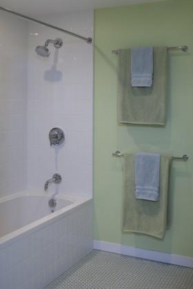 9万打造温馨舒适欧式风格小户型卫生间装修效果图大全