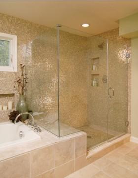 二室二厅现代卫生间装修效果图大全2012图
