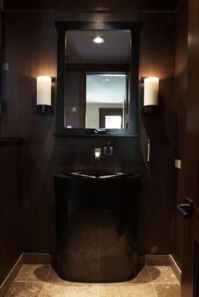 三居室卫生间瓷砖装修效果图大全
