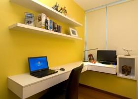 90平米小户型现代风格书房装修效果图大全