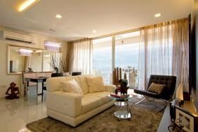 90平米小户型现代风格客厅装修效果图大全