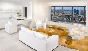 17万打造清新简欧风格二居客厅飘窗装修效果图大全