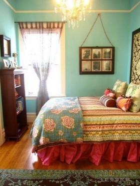 东南亚风格装修图片  东南亚风格卧室装修效果图