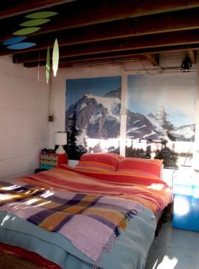 小户型后现代浪漫色彩卧室装修效果图大全