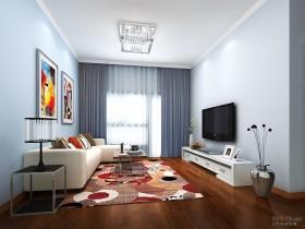 2013现代客厅设计装修图片