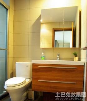 简约浴柜图片