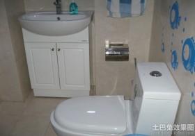 现代风格卫生间浴柜图片