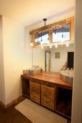 美式风格二居室卫生间装修效果图大全