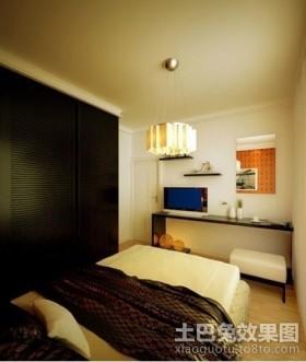 清新淡雅的田园风格装修卧室图片