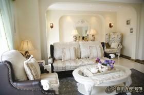 北欧小清新客厅装修效果图大全2012图片